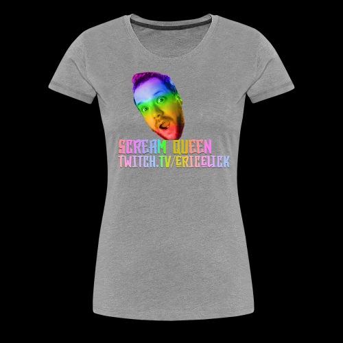 Scream Queen Pride Shirt - Women's Premium T-Shirt