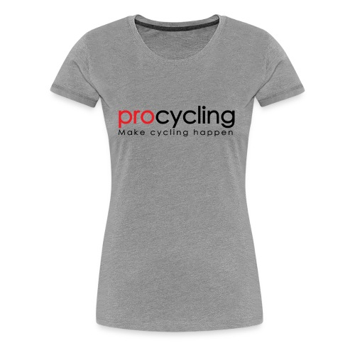 procycling luxembourg - Women's Premium T-Shirt
