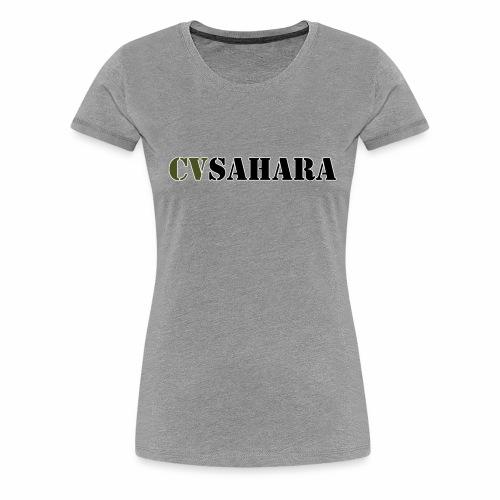 cvsahara Outline - Women's Premium T-Shirt