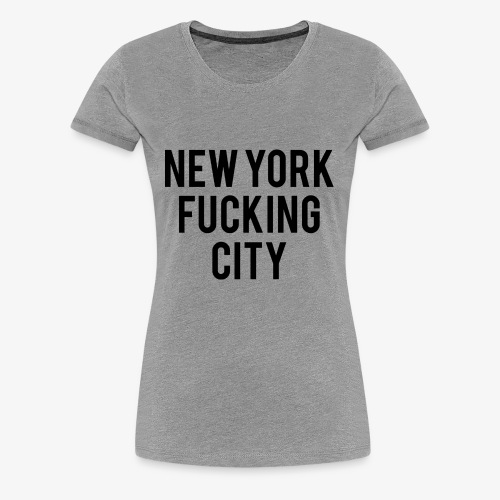 NYC - Women's Premium T-Shirt