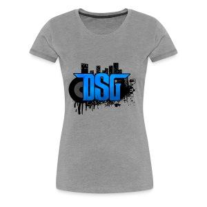 DSG Graffiti - Women's Premium T-Shirt
