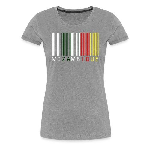 Barcode mozambique - Women's Premium T-Shirt