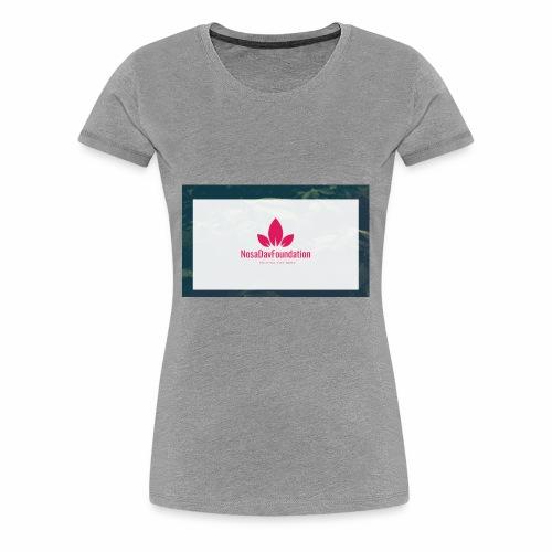 NosaDavFoundation - Women's Premium T-Shirt