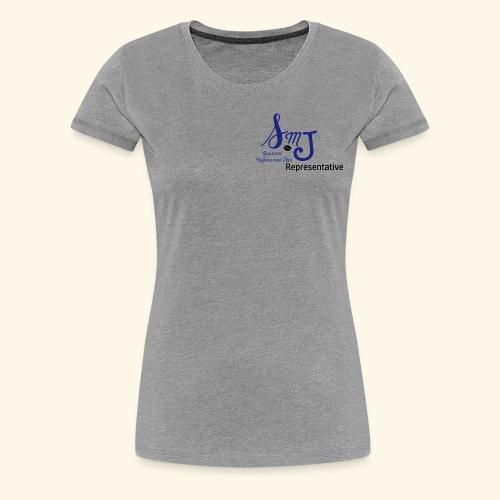 SMJ Rep. Blue - Women's Premium T-Shirt