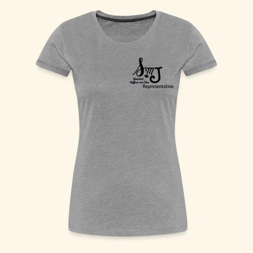 SMJ Rep. Black - Women's Premium T-Shirt