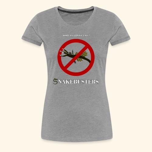 Snakebusters - Women's Premium T-Shirt