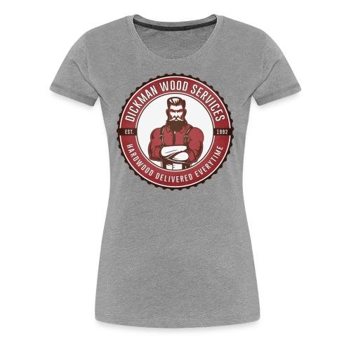 Dickman Wood Services - Women's Premium T-Shirt