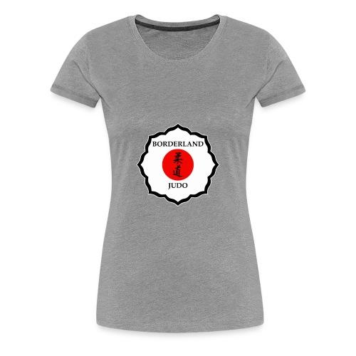 Borderland Judo - Crest - Women's Premium T-Shirt