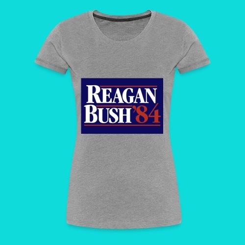 Reagan Bush - Women's Premium T-Shirt