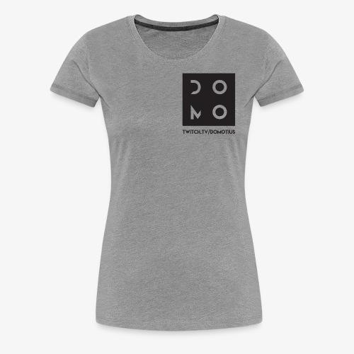Domotius Logo Branding - Women's Premium T-Shirt