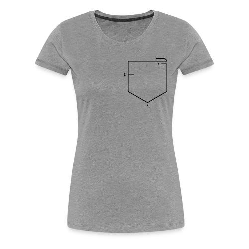 poche جيب - Women's Premium T-Shirt