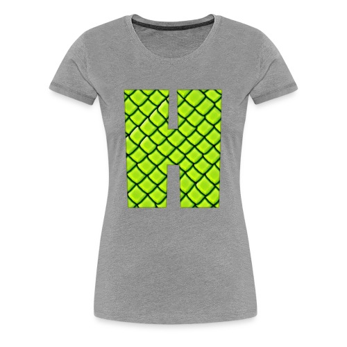 The H - Women's Premium T-Shirt