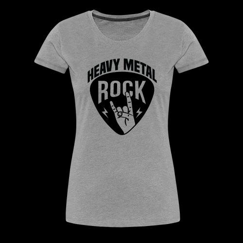 Heavy Metal Rock - Women's Premium T-Shirt