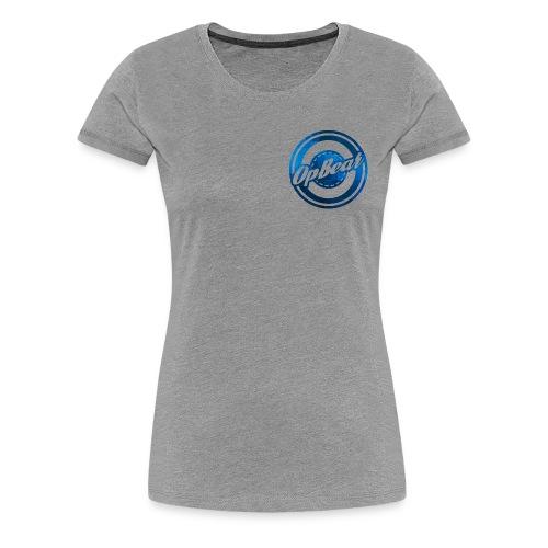 Blue Cubes - Women's Premium T-Shirt