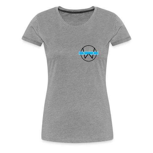 Lil White Logo - Women's Premium T-Shirt