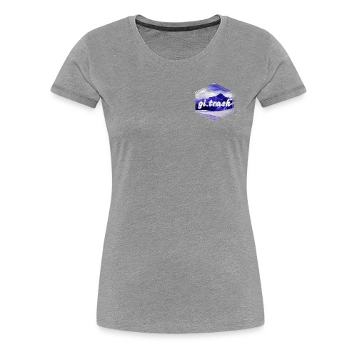 gi.trash - Women's Premium T-Shirt