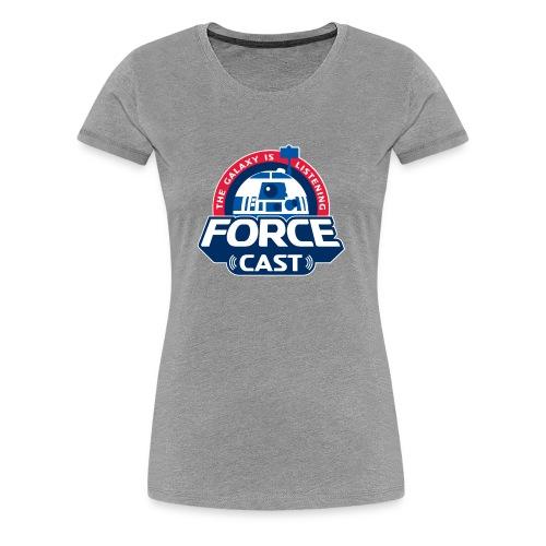FORCE CAST LOGO - Women's Premium T-Shirt