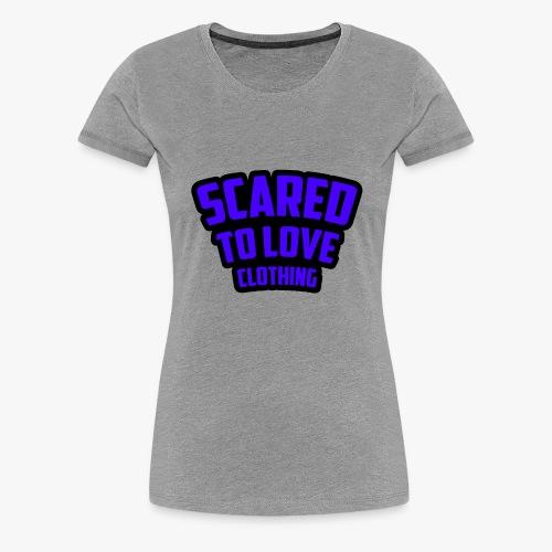 SCARED TO LOVE CLOTHING PURPLE - Women's Premium T-Shirt