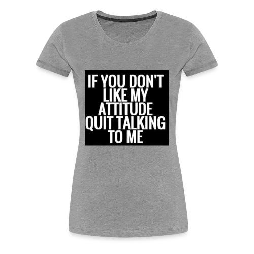 E8F8E571 2CC6 4036 BB56 93C2B783743E - Women's Premium T-Shirt