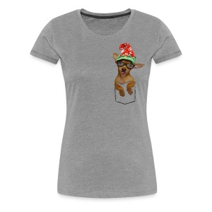 Is that a chaweenie in your pocket? - Women's Premium T-Shirt