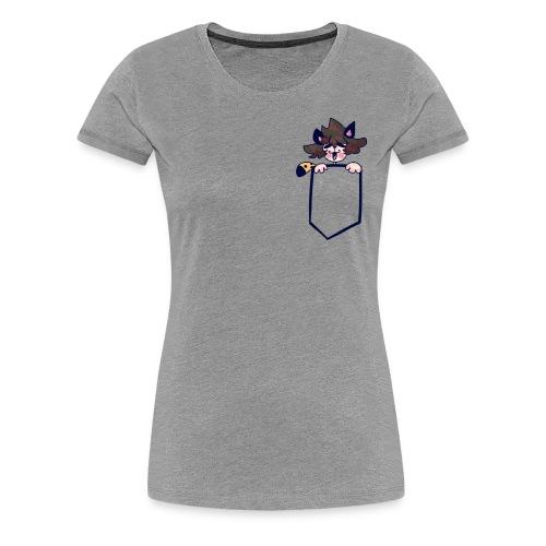 Pocket Edwin - Women's Premium T-Shirt
