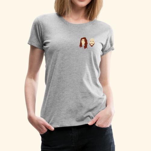 Filmed By Us Logo - Women's Premium T-Shirt
