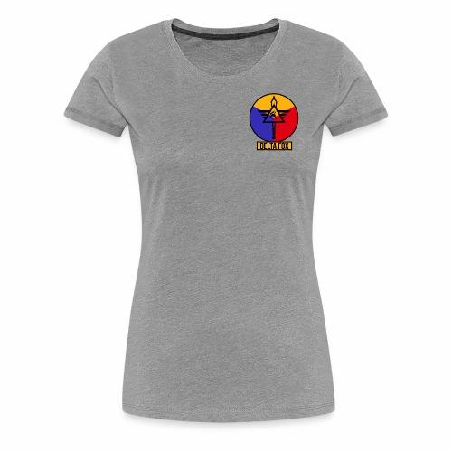 Delta Fox Patch Crest - Women's Premium T-Shirt