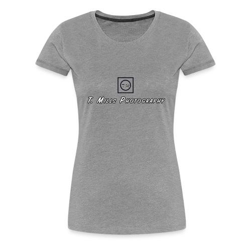 T Mills Photography logo - Women's Premium T-Shirt