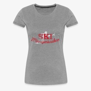 Lake Winnipesaukee Water Skiing T-Shirt - Women's Premium T-Shirt