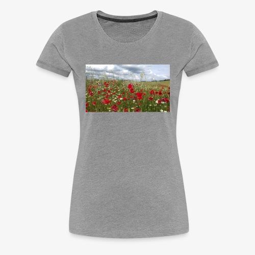 Poppy field forever - Women's Premium T-Shirt