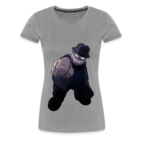 The Laughing Salesman - Women's Premium T-Shirt