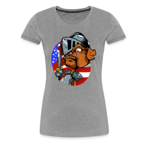 Paw Of Arms - Women's Premium T-Shirt