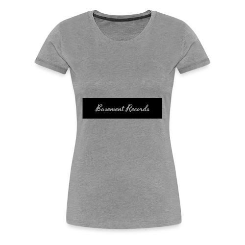 Basement Records - Women's Premium T-Shirt