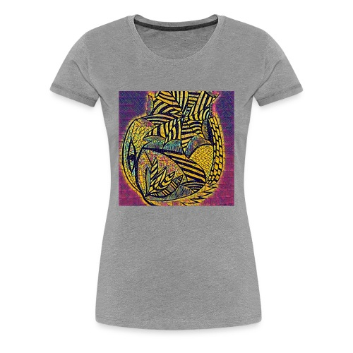 summer on a holiday - Women's Premium T-Shirt