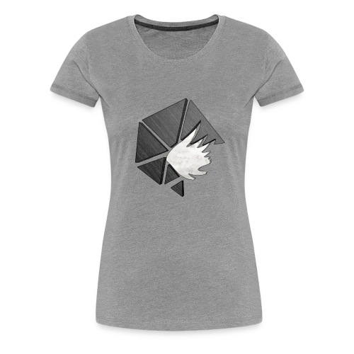 Broken Logo - Women's Premium T-Shirt