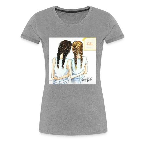 Braid bff's - Women's Premium T-Shirt