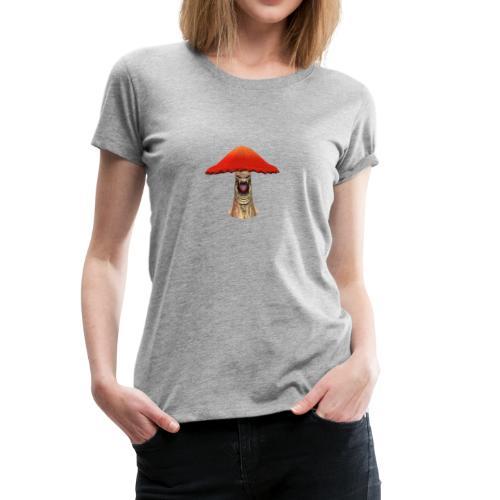 Flying Mushroom - Women's Premium T-Shirt