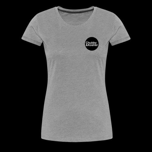 Chubby & Kosher - Women's Premium T-Shirt