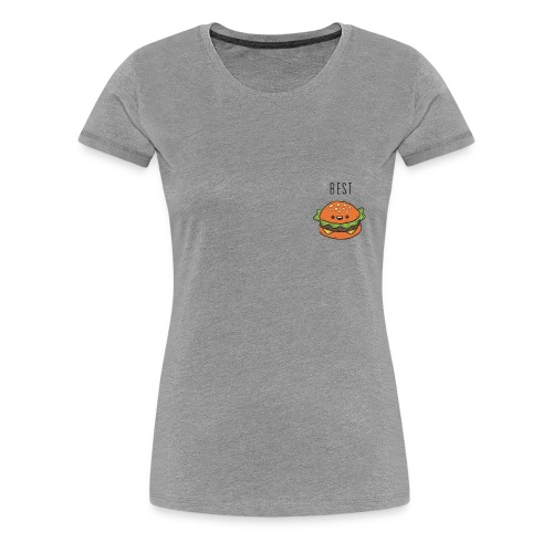 Hamburger best friends - Women's Premium T-Shirt