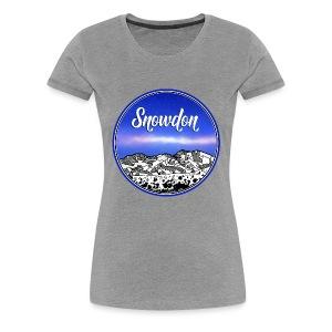 Mount Snowdon - Women's Premium T-Shirt