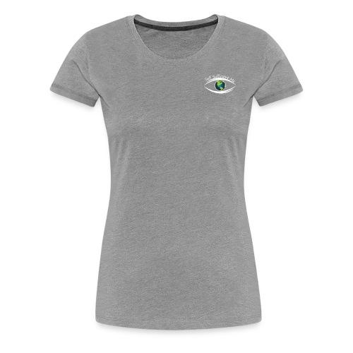 Self Sufficient Me Logo white small coy design - Women's Premium T-Shirt