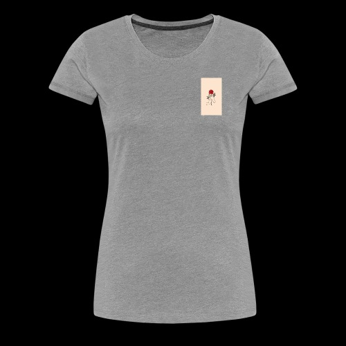 roses and hands - Women's Premium T-Shirt