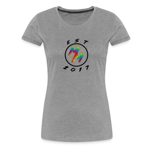 Original Tie Dye Est. 2017 Mack Merch - Women's Premium T-Shirt