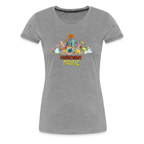 AWESOMEST PRIME LOGO - Women's Premium T-Shirt