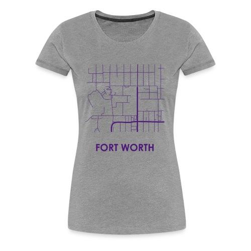 Fort Worth Streets - Women's Premium T-Shirt