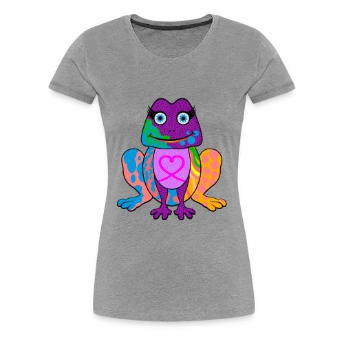 I heart froggy - Women's Premium T-Shirt