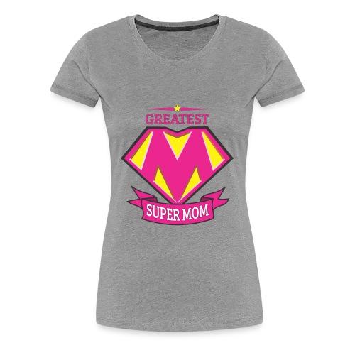 greatest supermom - Women's Premium T-Shirt