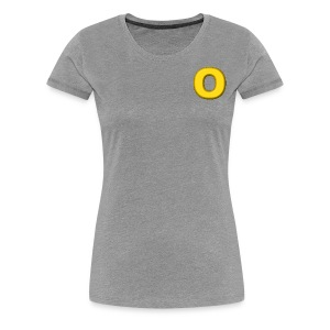 O - Women's Premium T-Shirt