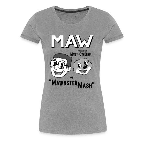 Mawnster Mash - Women's Premium T-Shirt