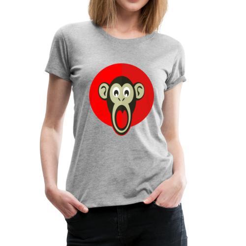 litlte monkey - Women's Premium T-Shirt